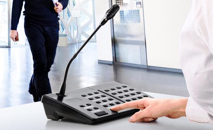 Hệ thống âm thanh công cộng, Âm thanh thương mại và âm thanh thông báo khẩn cấp