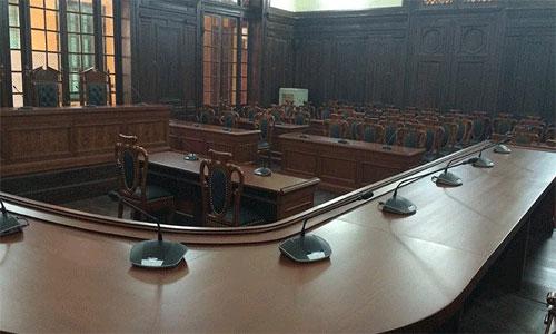 Ứng dụng hệ thống hội thảo Bosch CCS1000D - Tòa án nhân dân tối cao, Hà Nội