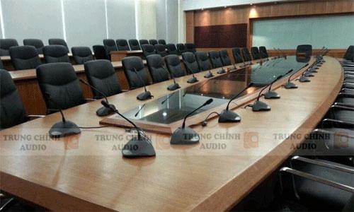 Lắp đặt hệ thống hội thảo BOSCH CCS 900 cho các công ty