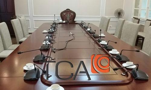 Ứng dụng Hệ thống hội thảo BOSCH CCS1000D: phòng họp Công ty Tài chính  Điện lực EVN, HÀ NỘI