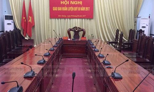 Ứng dụng Hệ thống âm thanh hội nghị, hội thảo CCS-1000D: phòng họp cục đường sắt Việt Nam