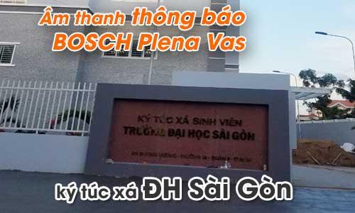 Hệ thống âm thanh thông báo BOSCH Plena Vas: Ký túc xá trường ĐH Sài Gòn