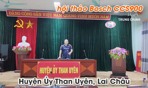 Hệ thống âm thanh hội thảo Bosch CCS900: Phòng họp Huyện Ủy Than Uyên, Lai Châu
