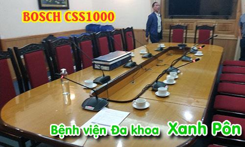 Hệ thống hội thảo, hội nghị BOSCH CSS 1000D: Bệnh viện đa khoa Saint Paul