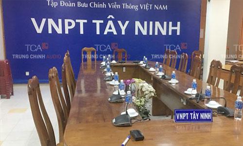 Hệ thống âm thanh hội nghị BOSCH CCS 1000D cho VNPT Tây Ninh