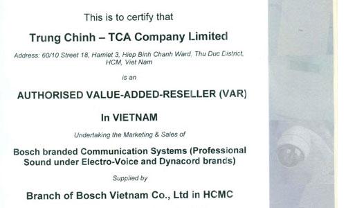 Phân phối thiết bị âm thanh PA BOSCH tại Việt Nam: hội nghị, thông báo