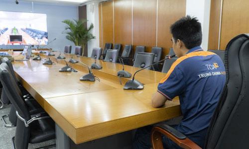 LOA phòng họp hội nghị trực tuyến: âm thanh hội thảo chuyên nghiệp