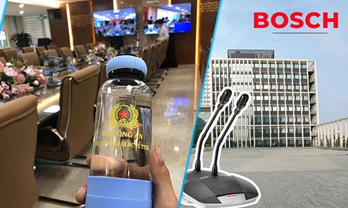 Hệ thống hội nghị, hội thảo Bosch CCS1000D phòng họp Nhà khách Bộ Công An