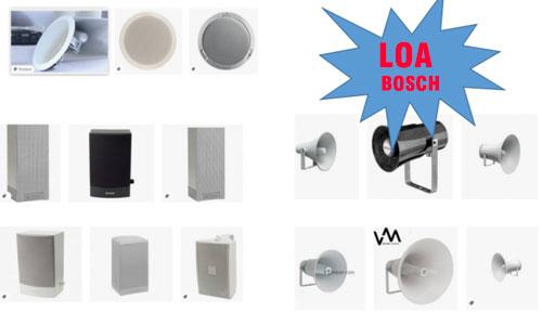 LOA BOSCH: được tin dùng cho hệ thống âm thanh công cộng cao cấp