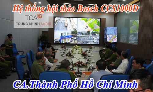 Hệ thống âm thanh phòng họp Bosch CCS-1000D: CA.Thành phố Hồ Chí Minh