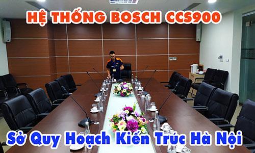 Hệ thống hội thảo Bosch CCS900: Phòng họp Sở Quy Hoạch Kiến Trúc Hà Nội (phòng 1)