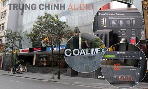 TCA bảo trì hệ thống thông báo Bosch Plena VAS: tòa nhà Coalimex Building
