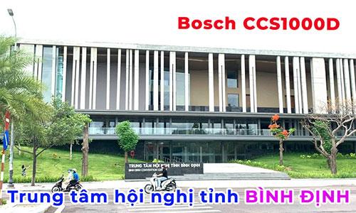 Hệ thống âm thanh hội thảo Bosch ccs-1000: phòng họp hội nghị Trung tâm hội nghị Bình Định