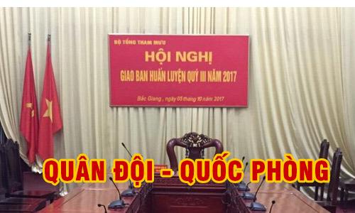 Hệ thống hội nghị, hội thảo BOSCH: âm thanh phòng họp trực tuyến QUÂN ĐỘI - QUỐC PHÒNG