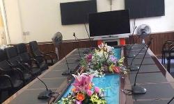 Hệ thống hội nghị BOSCH CCS 1000 D: Phòng họp, hội thảo Tổng cục Quân huấn