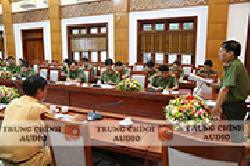 Thiết bị  BOSCH CCS 900– Công an tỉnh Nghệ An