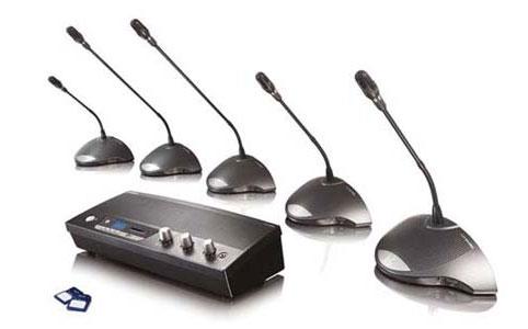 Hệ thống hội nghị BOSCH CCS900 - âm thanh phòng họp và hội thảo trực tuyến