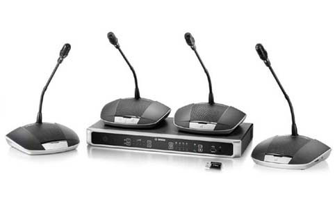 Hệ thống hội nghị BOSCH CCS1000D - âm thanh phòng họp và hội thảo trực tuyến